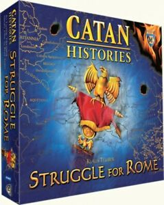 CATAN HISTORIES STRUGGLE FOR ROME KLAUS TEUBER LIKE NEW