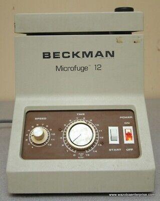Beckman Microfuge 12 W Rotor