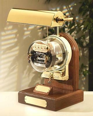 Operating Electric Watthour Meter Lamp - Ob-br Deluxe Edition