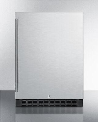 """Summit SPR627OS 24"""" Outdoor All Refrigerator Beverage Center Stainless Steel"""