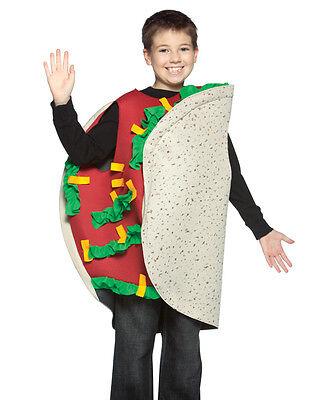 Child Taco Costume - 7-10 - Kids Taco Costume