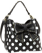 Betsey Johnson Polka Dot Purse