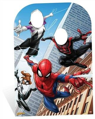 Spider-Man Child Size Stand-In Marvel Cardboard Cutout / Standup Party Photo - Photo Cardboard Standups
