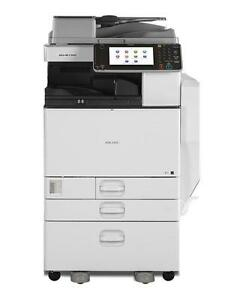Ricoh Aficio MP C3002 color Digital Imaging Printer Copy Machine Photocopier - BUY or RENT Professional Copiers Printers