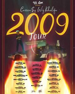 Wiz Khalifa & Curren$y - 2009 Tour Tickets