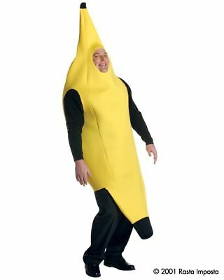 Herren Erwachsener Lustig Deluxe Banane Essen-Kostüm