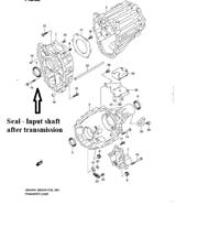 CASE EXTENSION TRANSFER CASE FRONT SEAL for VITARA Escudo