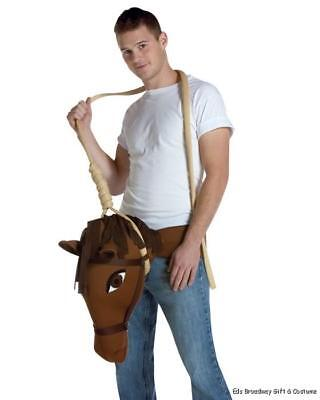 Mens Adult Funny HUNG LIKE A HORSE Costume Outfit