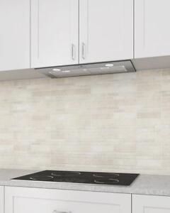 """600cfm-28"""" Ancona Chef Insert Range Hood LED Light (30"""" cabinet)"""