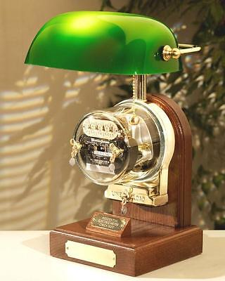 Operating Electric Watthour Meter Lamp - Ob-ba Deluxe Edition