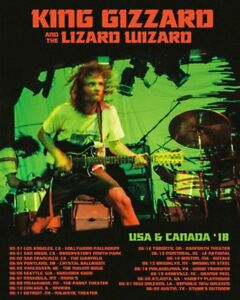 ⚡⚡⚡⚡⚡ Billets pour KING GIZZARD AND THE LIZARD WIZARD ⚡⚡⚡⚡⚡