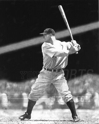 Lou Gehrig New York Yankees At Bat Iron Horse 8X10 11X14 16X20 Photo 435