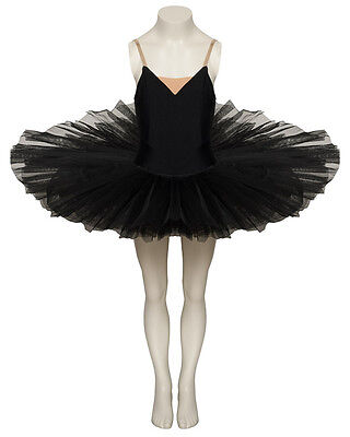 Black Swan Or White Swan Halloween Fancy Dress Plateau 7 Stiff Net Layer Tutu
