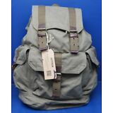 Gootium 21101AMG High Density Thick Canvas Backpack Rucksack Army Green Large