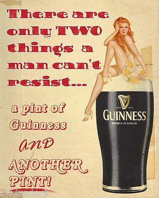 Funny Guinness Beer Refrigerator   Tool Box Magnet Man Cave