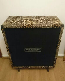 Mesa Boogie 4x12 Cabinet Custom made for Justin Hawkins (The Darkness) with delivery to UK
