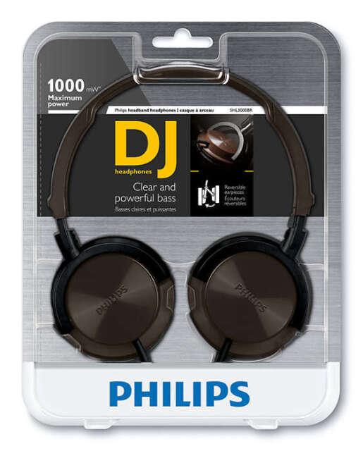 Philips SHL3000BR Headband Headphones - Brown SHL3000