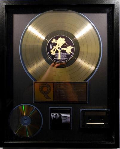 U2  RIAA The  Joshua Tree plaque
