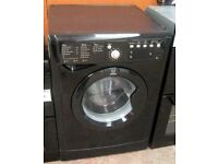 INDERSIT BLACK WASHING MACHINE EXCELLENT CONDITION