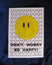 'Don't Worry Be Happy' Mini Poster Clifton Beach Cairns City Preview