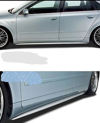 AUDI A4 B6 B7 SIDE SKIRTS S-LOOK RS-LOOK NEW