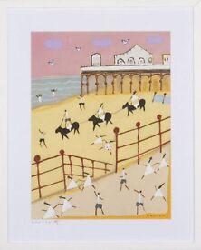 Original Acrylic Painting titled 'Brighton Pier' (2014) by David Barrow