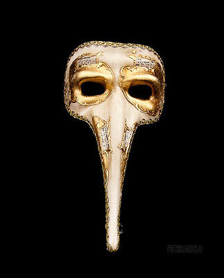 Mask from Venice Nasone Symphonia - Mask Venetian Long Nose Authentic 363