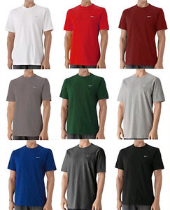 Nike-416152-Mens-Swoosh-Tee-Classic-T-Shirt-Short-Sleeves-All-Color-All-Size
