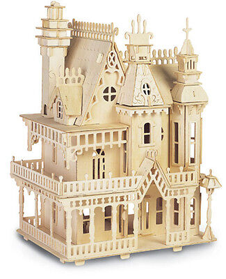 FANTASY VILLA- QUAY Woodcraft Construction Kit FSC D-004
