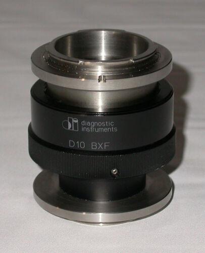DIAGNOSTIC INSTRUMENTS D10BXF 1.0X F-MOUNT ADJUSTABLE C-MOUNT FOR OLYMPUS BX