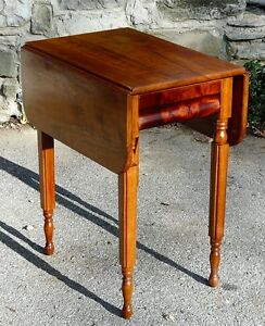Antique Cherry Drop-leaf Table Kingston Kingston Area image 6