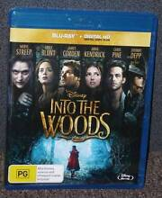 Into The Woods blu ray dvd Officer Cardinia Area Preview