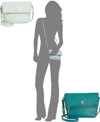 Giani Bernini Women's Crossbody Bags Pebble Leather Zipper Mini Flap bag (Giani Bernini Pebble Leather Zipper Flap Crossbody)