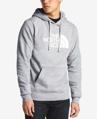 The North Face Men's Half Dome Pullover Hoodie Gray Size S NWT