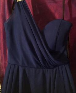 Size 4 Gorgeous Royal Blue Gown