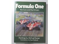 Formula One The Cars and Drivers Signed Hardback