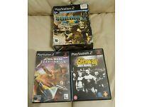 7X PlayStation2 & Socom II ps2 headset pack/Game
