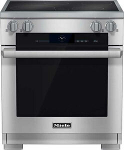 """MIELE 30"""" PRO-STYLE STAINLESS STEEL INDUCTION RANGE - HR1622 I"""