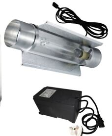 Hydroponic Equipments, Lights, Trimmer, Acoustic Fan and other bits...