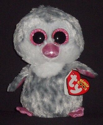 TY BEANIE BOOS - OLIVE the PENGUIN - CLAIRE'S EXCLUSIVE - MINT with MINT TAG