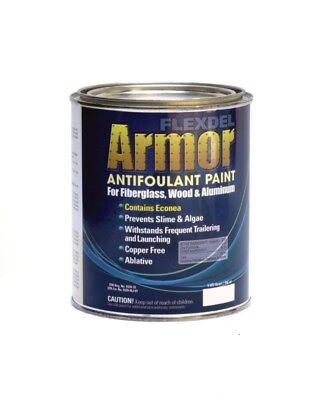Flexdel Armor Copper-Free Antifouling Bottom Paint WHITE (Antifouling Bottom Paint)