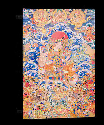 (Postcard Tibetan Buddhist Deities 9258)