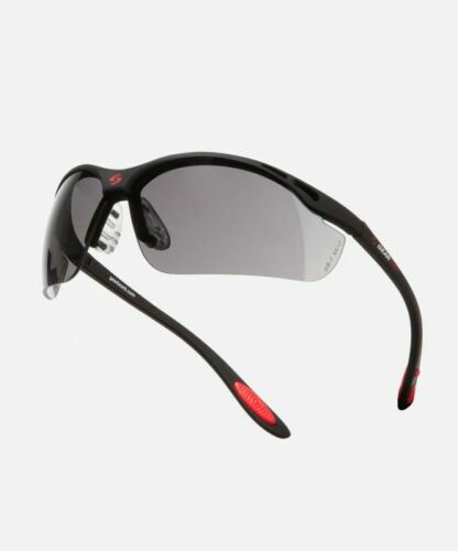New GEARBOX VISION EYEWEAR BLACK FRAME SMOKE LENS HARD CASE Racquetball Dealer