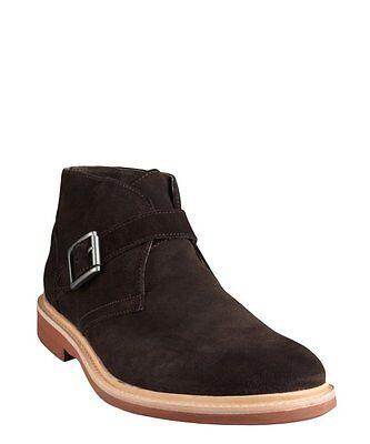 Kenneth Cole Men's Best of Chuck Suede Ankle Strap Buckle Boot