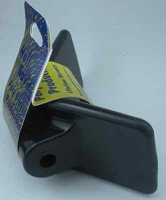 "Tie Down Engineering 86413 Poly Vinyl V Bow Stop 3"" Black 11036"