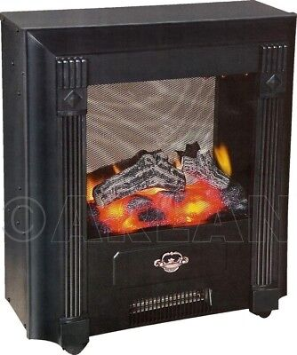 Estufa electrica efecto llama encastrar 002 1000/2000W