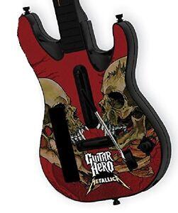 Guitar Hero 5 Band Hero Metallica Guitar Faceplate Wii - New & Sealed