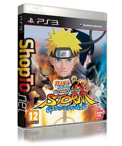 NARUTO SHIPPUDEN ULTIMATE NINJA STORM GENERATIONS PS3 PLAYSTATION 3 NEW PAL