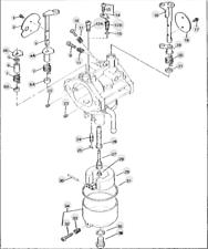 Carburetor Assembly Fit JOHN DEERE RX63 RX73 RX75 RX95