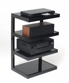 Norstone Esse 4 Shelf with Glass for Hi-Fi Systems